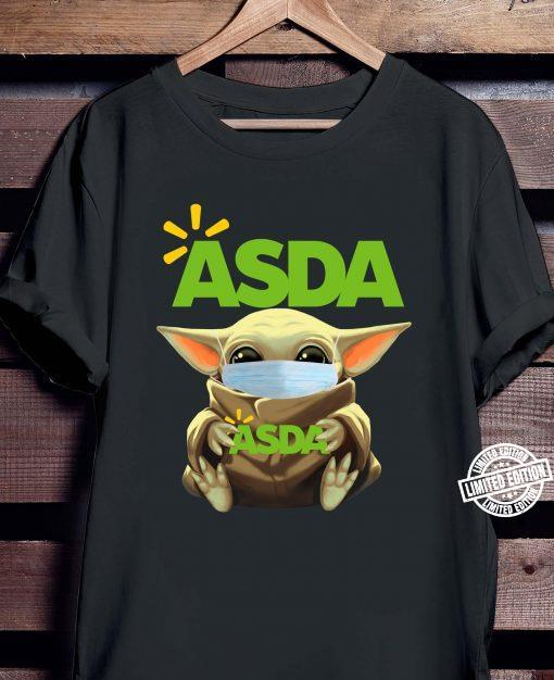 Baby Yoda Face Mask Hug Asda Shirt