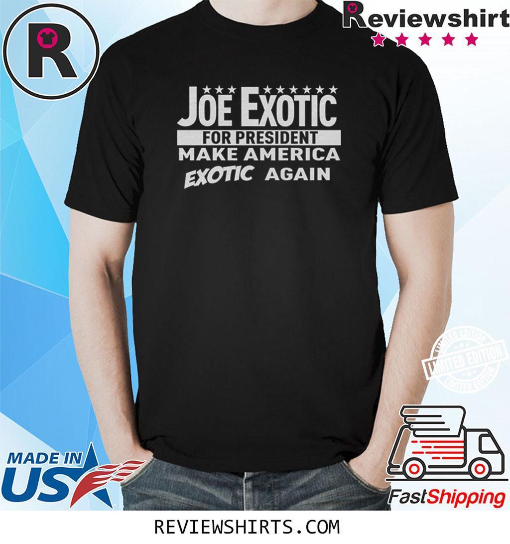 Joe Exotic for President Toddler Shirt