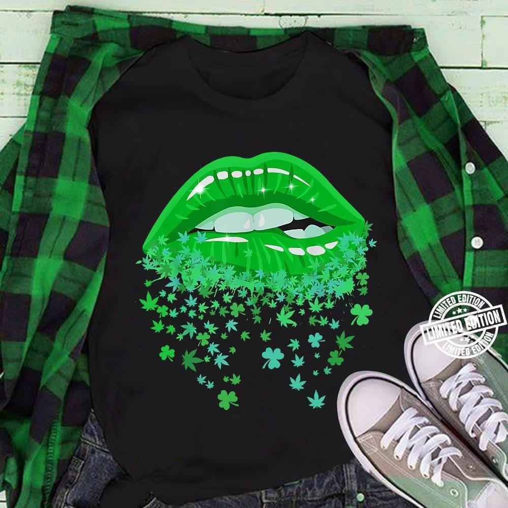 Lip weed and irish shirt