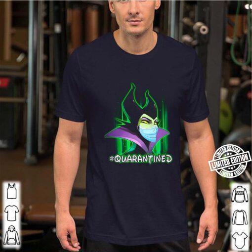 Maleficent Mask Quarantined shirt