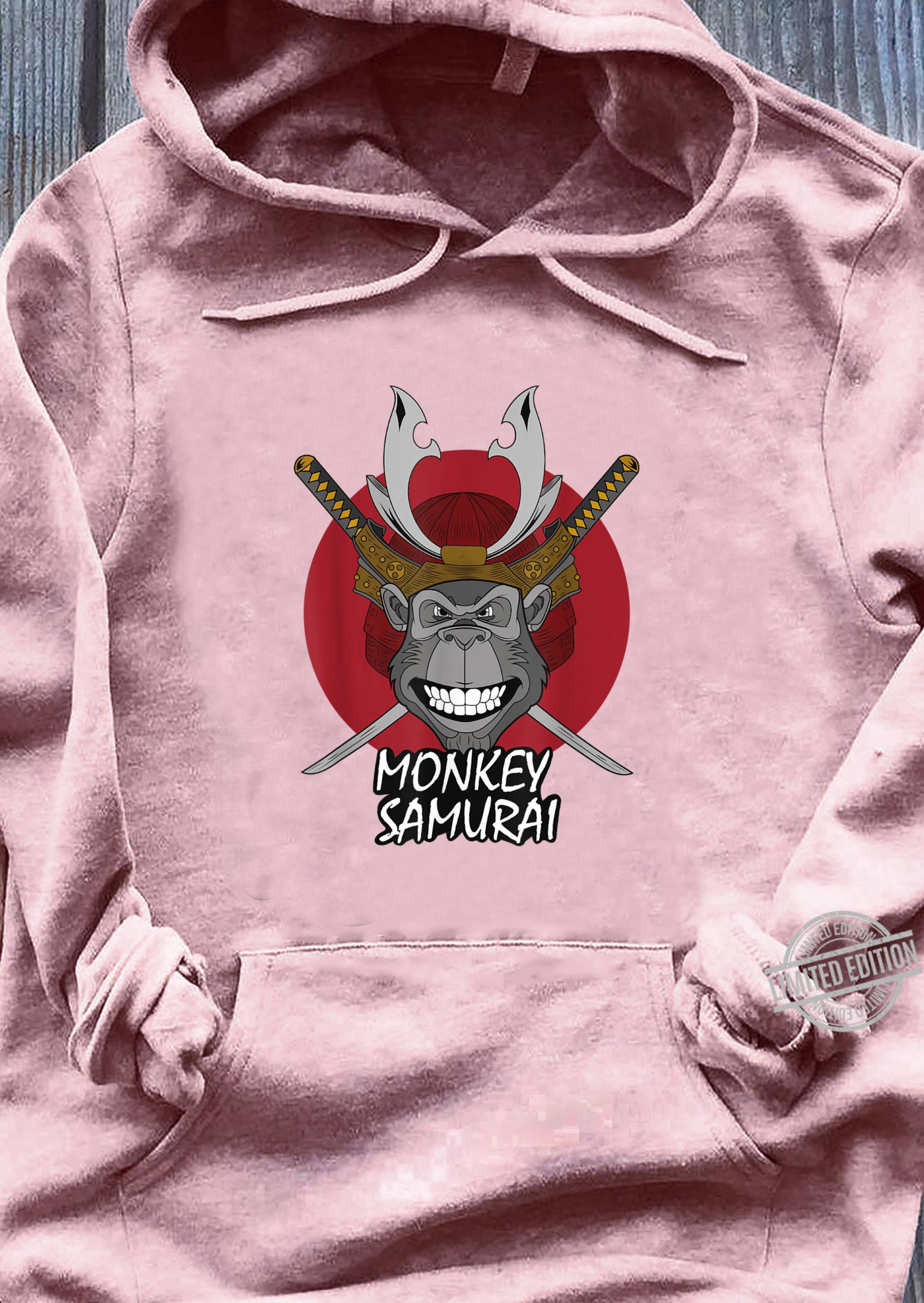 Mens Monkey Samurai Shirt sweater
