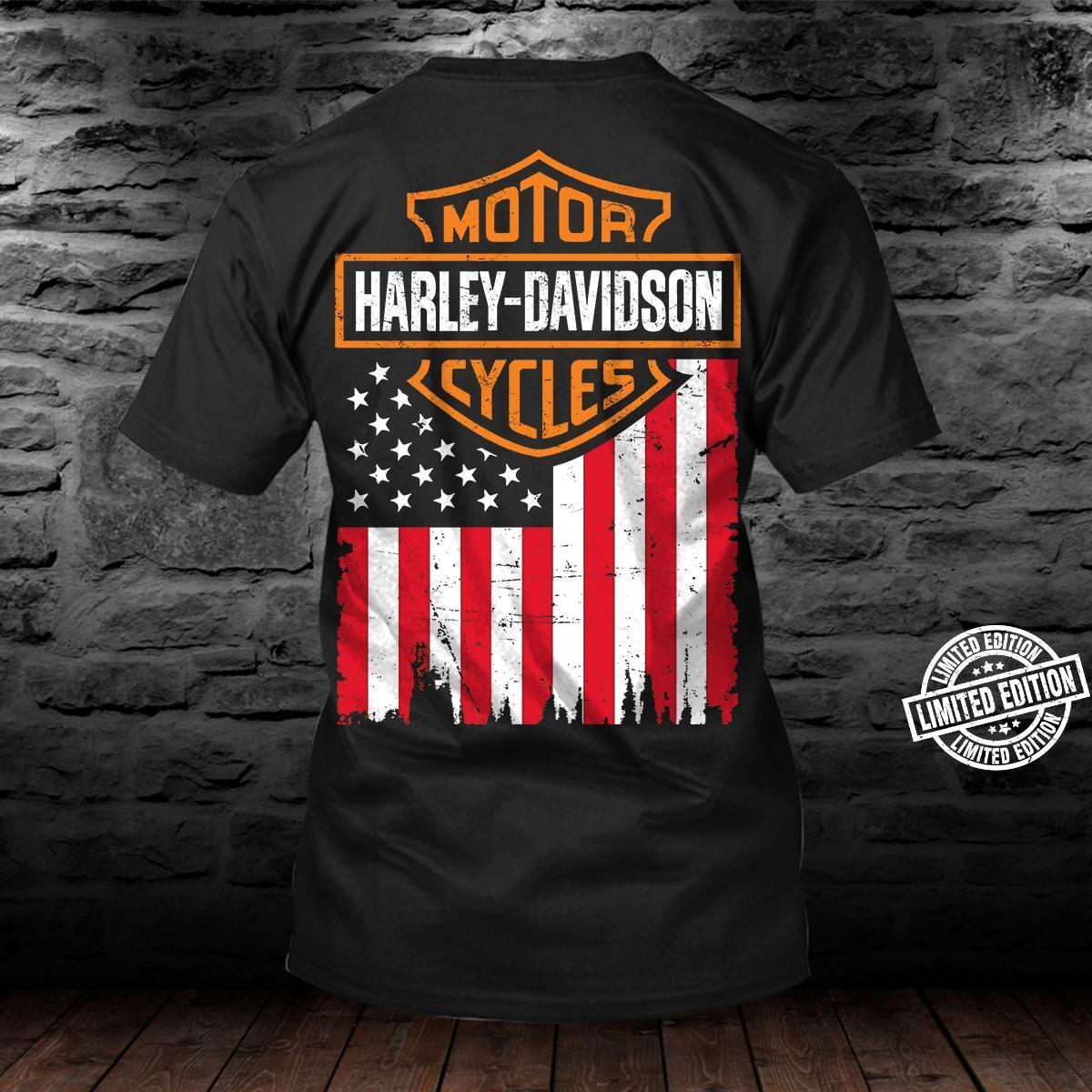 Motor harley-davidson cycles shirt