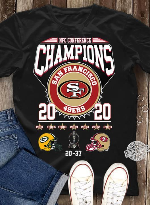 NFC conference champions san francisco 49 ers shirt