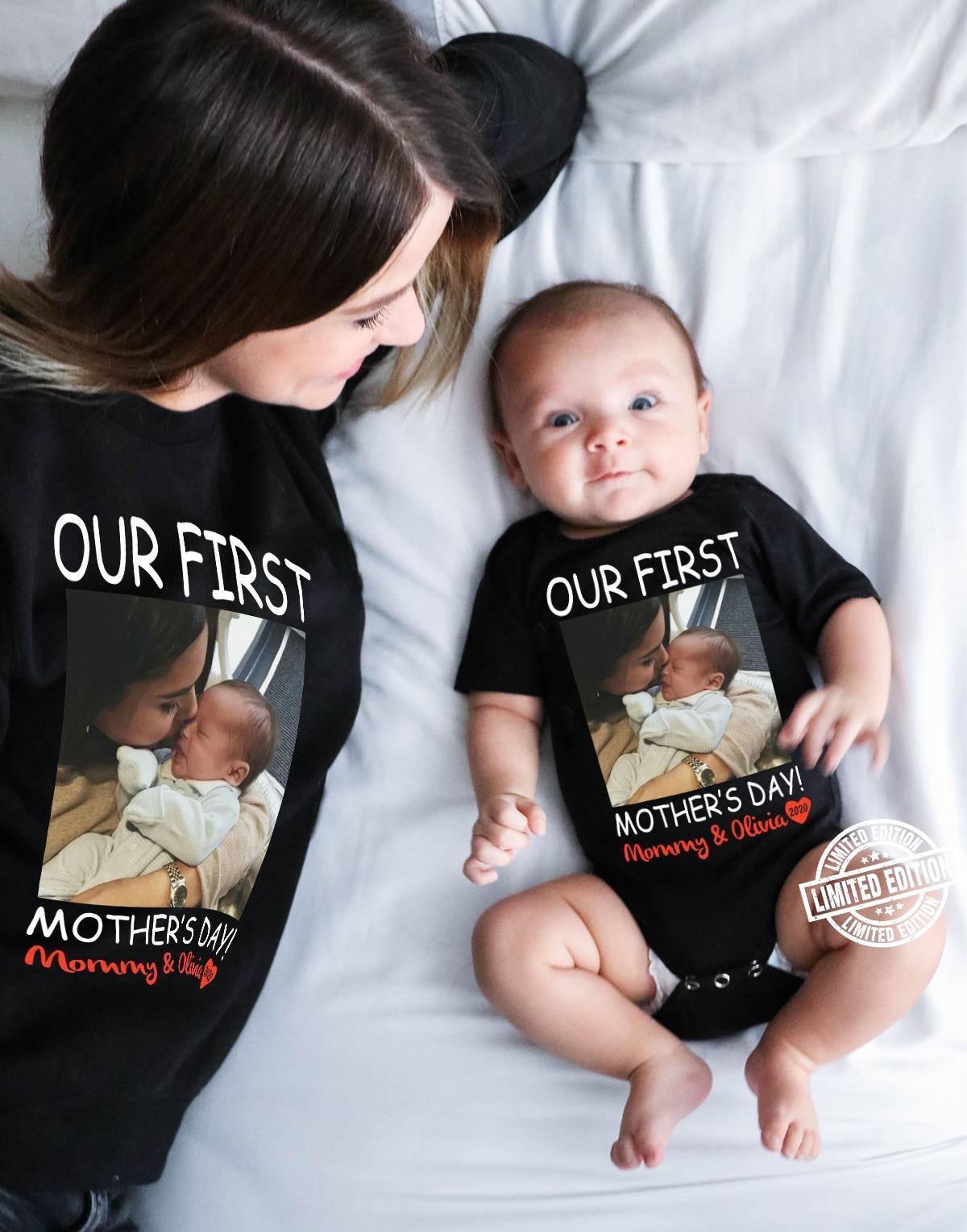 Our first mother's day mommy and olivia shirt