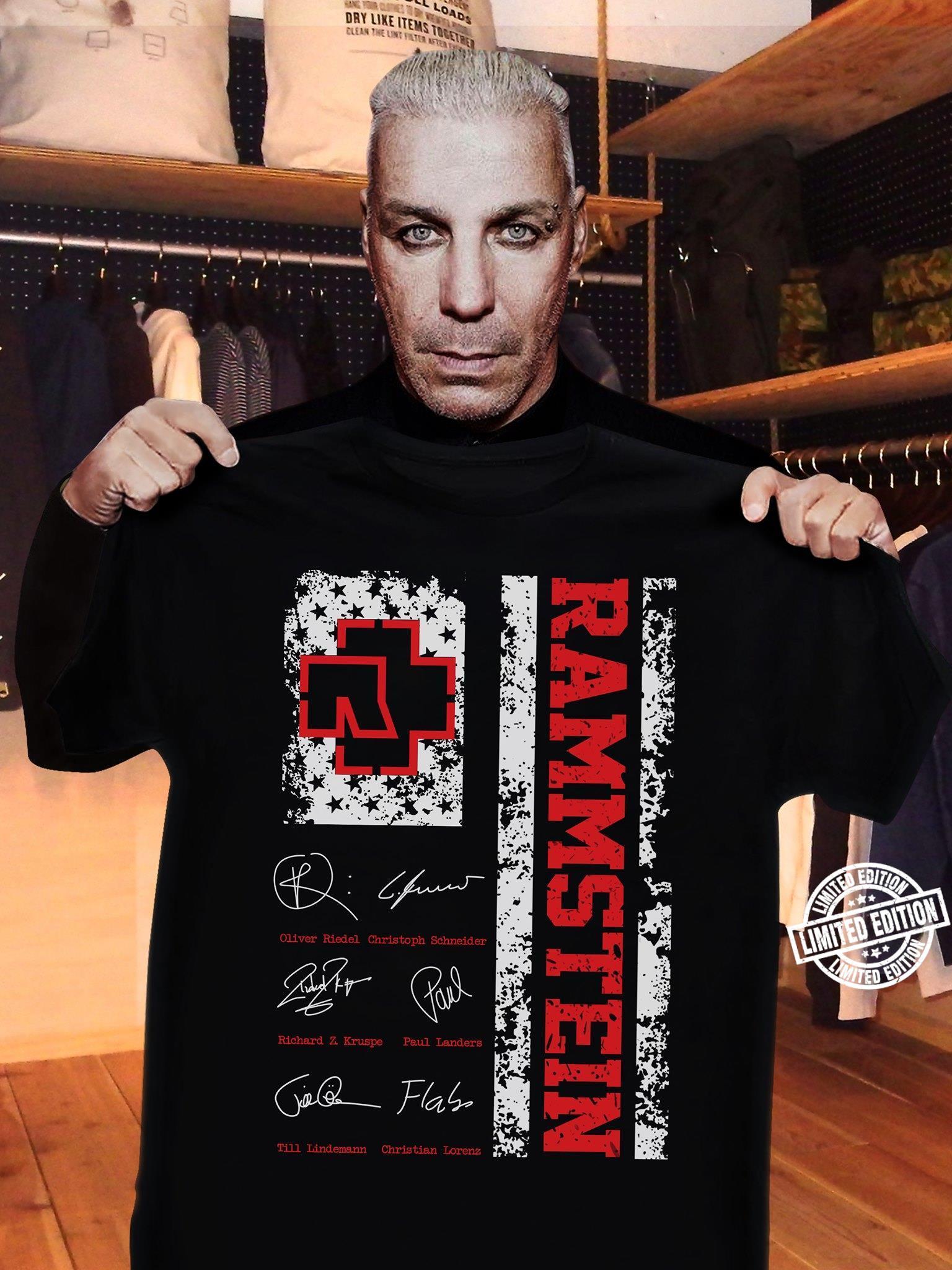 Rammstein shirt