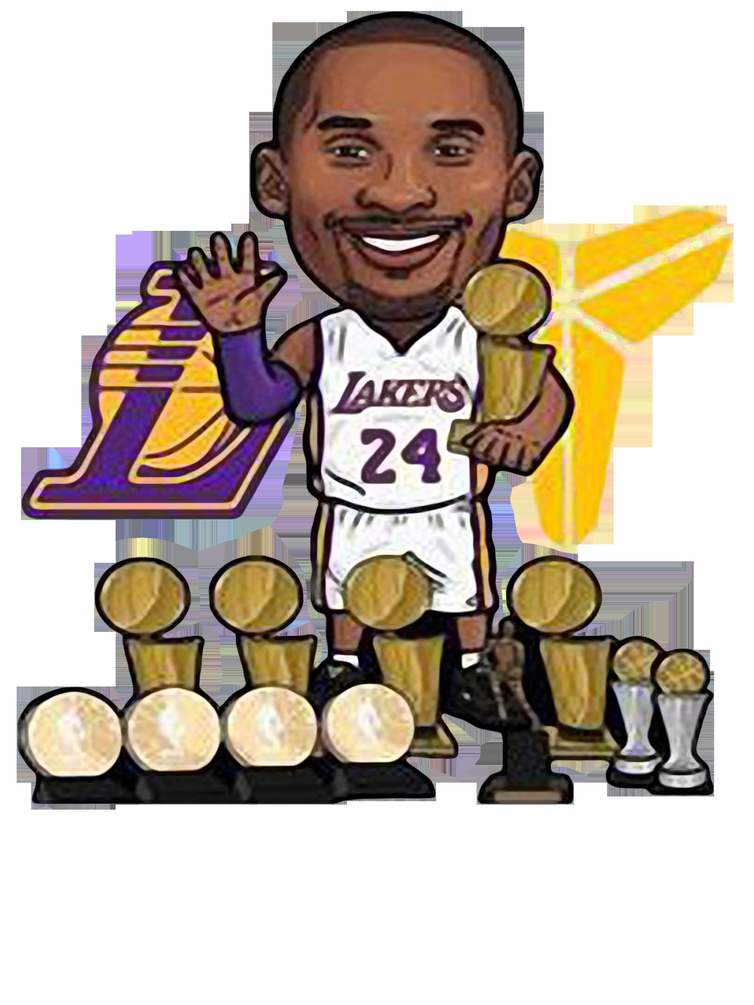 Rip Kobe Lakers 24 Shirt