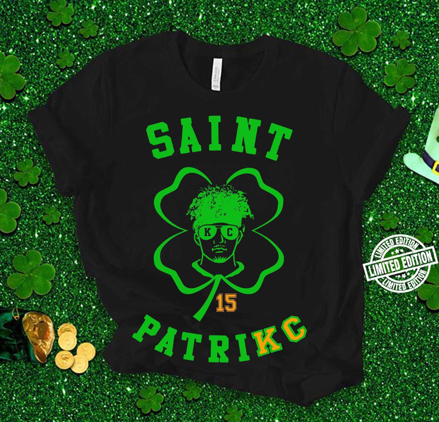 Saint 16 patrkc shirt