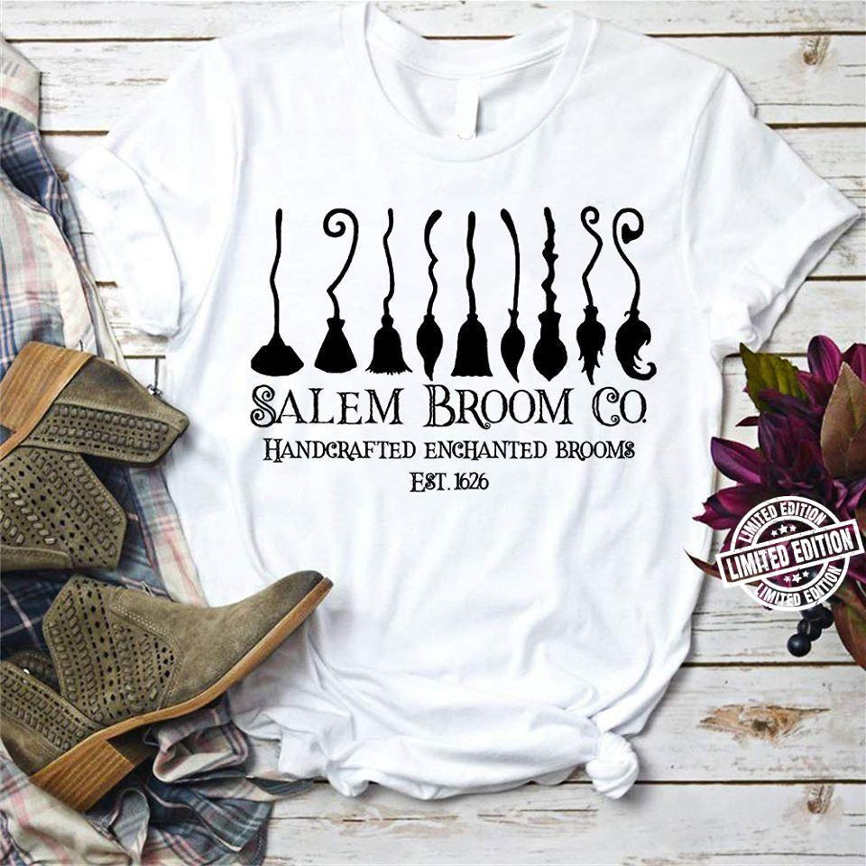 Salem broom co handcrafted enchanted brooms shirt