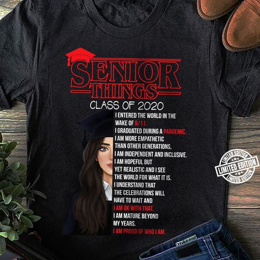 Senior things class of 2020 shirt