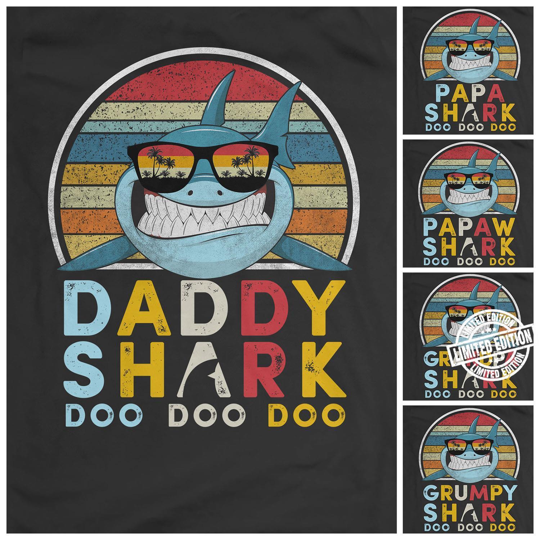 Shark doo doo doo shirt