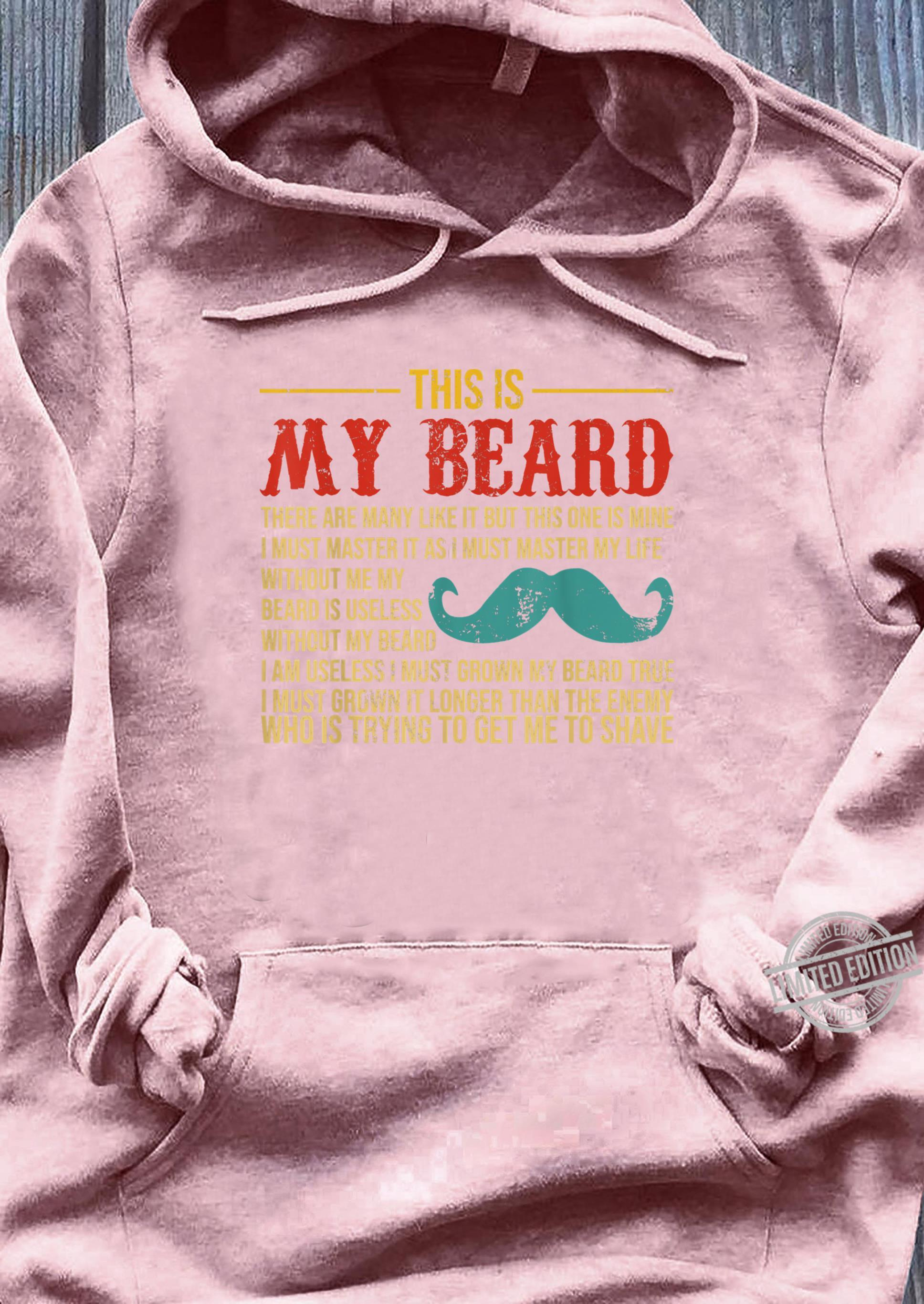 Vintage This Is My Beard Father's Day Shirt sweater