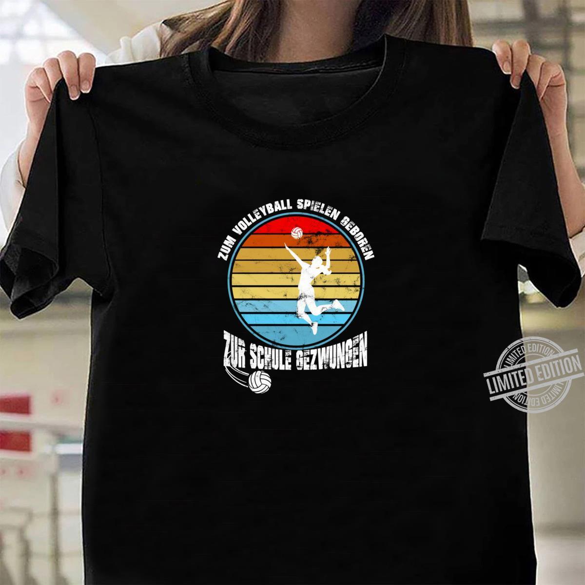 Volleyball Geschenkidee Sport Volleyballteam Mannschaft Shirt ladies tee