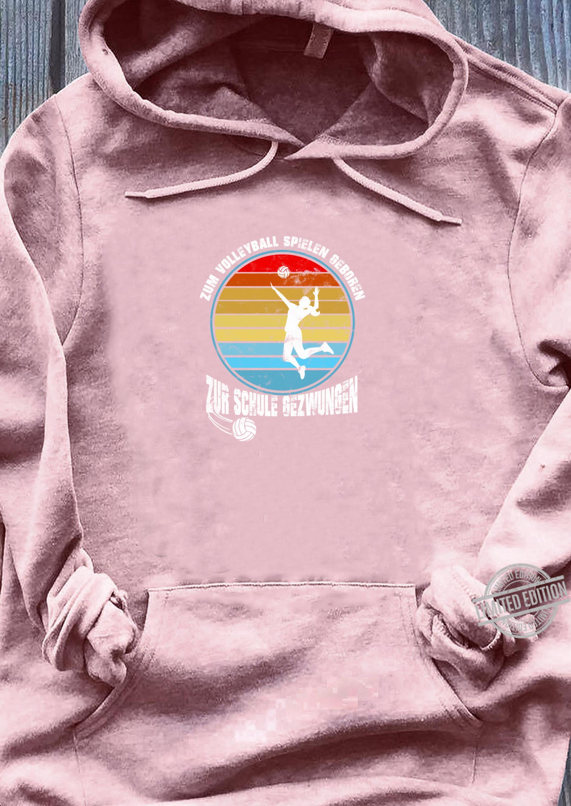 Volleyball Geschenkidee Sport Volleyballteam Mannschaft Shirt sweater